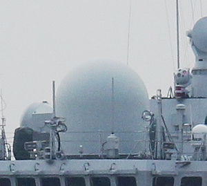 Type 366 Radar - Type 366 radome of PLANS ''Changzhou'' (FFG-549)