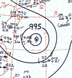 Typhoon Cora analysis 23 June 1961.png