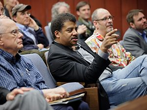 Neil deGrasse Tyson - Tyson in December 2011 at a conference marking 1,000 days after the launch of the spacecraft Kepler