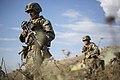 U.S. Marines conduct a platoon attack during Exercise Platinum Lynx 160924-M-LF768-011.jpg