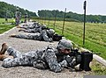 U.S. Soldiers with the 76th Brigade Special Troops Battalion, Indiana Army National Guard, fire M4 carbines during weapon qualifications at Camp Atterbury, near Edinburgh, Ind., June 7, 2013 130607-Z-KN828-123.jpg