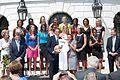 UConn Team At White House 2009.jpg