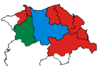 Results of the UK general election 2005 for Clwyd