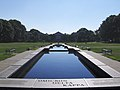 UMCP Administration building, seen from end of reflecting pool at morning, August 21, 2006.jpg