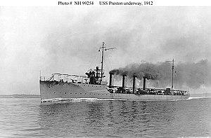 USS Preston (DD-19) - Image: USS Preston DD19