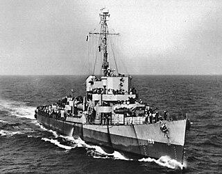 USS <i>Baker</i> (DE-190) Cannon-class destroyer escort