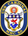 USS Cardinal MHC-60 Crest.png