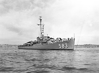 USS <i>George A. Johnson</i> (DE-583)