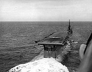 USS Monterey (CVL-26) in Gulf of Mexico