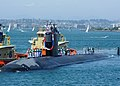 USS Pasadena returns to Point Loma from a six-month deployment (150703-N-NB544-095).jpg