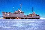USS Tombigbee (AOG-11) in McMurdo Sound, Antarctica, in January 1963.jpg