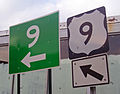 US 9 signs at NY 448.jpg