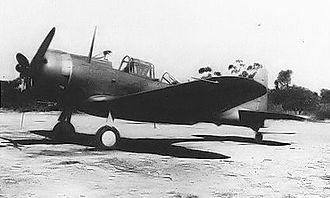 United States Army Air Forces in Australia - Unidentified 1941 serial Douglas A-24-DE Dauntless Dive Bomber, ex 27th Bombardment Group (Light), reassigned to the 8th Squadron of the 3rd Bomb Group, Charters Towers Airfield, Queensland, Australia, 1942.