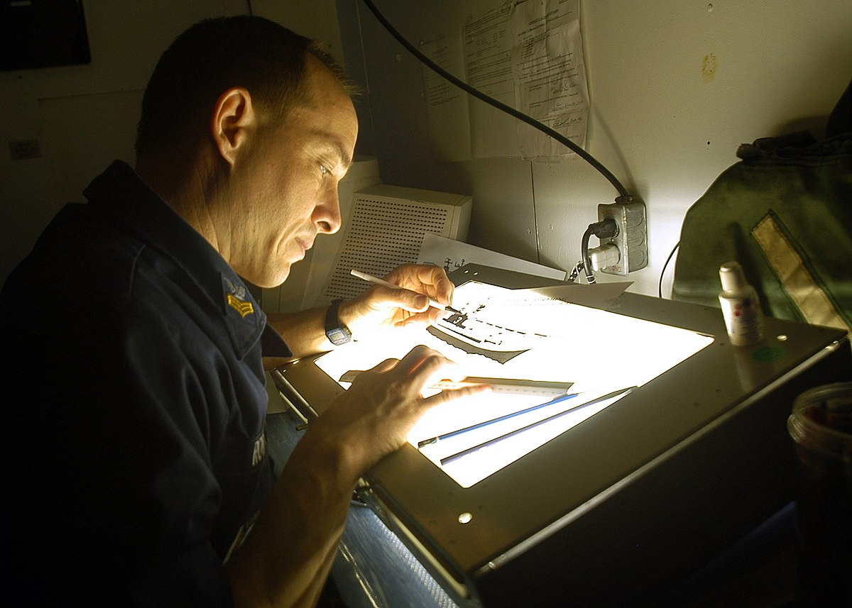 Light table - Wikipedia for Drawing Table With Light  103wja