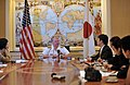 US Navy 090704-N-8273J-007 Chief of Naval Operations (CNO) Adm. Gary Roughead answers questions during a media availability while visiting Tokyo.jpg
