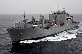 US Navy 100831-N-4378P-036 USNS Lewis and Clark (T-AKE 1) is underway in the Arabian Sea.jpg