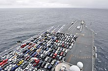 It Consist Of Two Parallel Flight Decks One For Launching And Landing Because The Length Deck Hangar E Under Are