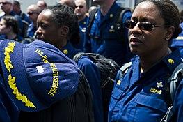 USCG, NOAA Corps, e USPHS Uniform Dress operativa