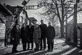 US delegation at Auschwitz I during 2020 visit.jpg
