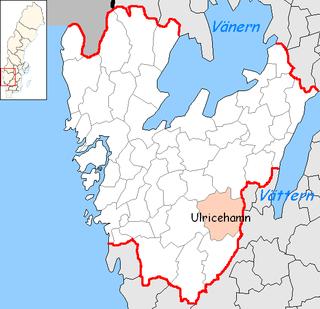 Ulricehamn Municipality Municipality in Västra Götaland County, Sweden