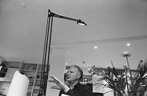 Ulrich Beck - Ulrich Beck in his flat in Munich, 1999