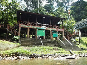 Ulu Temburong National Park - This is where incoming guests first register.