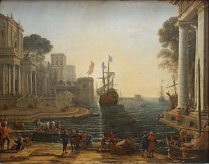 Chryseis - Odysseus returns Chryseis to her father (by Claude Lorrain, 1644).