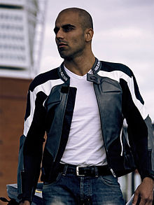 Umar Khan posing in motorcycle clothing.jpg