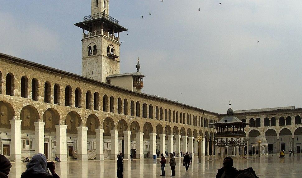 Umayyad Mosque - courtyard