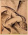 Umberto boccioni, voglio sintetizzare le forme uniche della continuità nello spazio (dinamismo di un corpo umano), 1913 (cast. sforzesco) (2).jpg