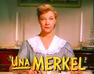 Una Merkel - As Mom Schneider in I Love Melvin (1953)