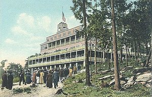 Goffstown, New Hampshire - The Uncanoonuc Hotel in 1910