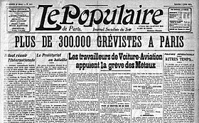 Image illustrative de l'article Le Populaire