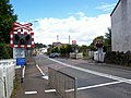 Ungated level crossing - geograph.org.uk - 511073.jpg