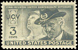 United Confederate Veterans - Image: United Confederate Veterans 1951 3c