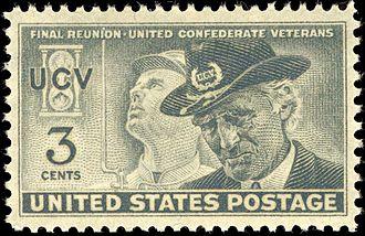 United Confederate Veterans - Commemorative postage stamp