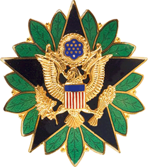 William E. Ward - Image: United States Army Staff Identification Badge