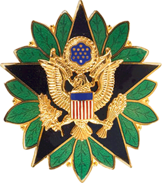 Raymond F. Rees - Image: United States Army Staff Identification Badge