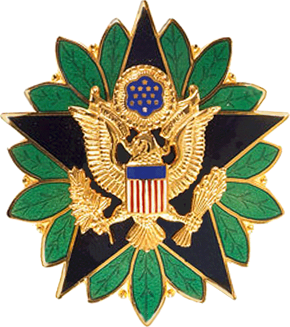 United States Army Staff Identification Badge