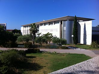 University of Toulon - One of the buildings of the University