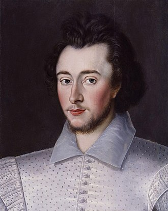 Robert Dudley (explorer) - Probable likeness of Robert Dudley, c. 1591