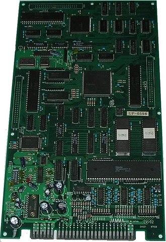 Puzzle Uo Poko - Uo Poko arcade PCB
