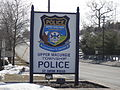 Upper Macungie Township Police sign.JPG