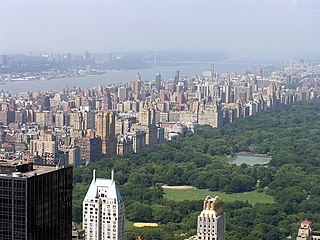Upper West Side Neighborhood of Manhattan in New York City