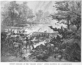 Battle of Spotsylvania Court House - Upton's brigade attacks
