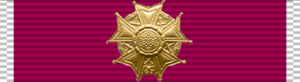 Raoul Magrin-Vernerey - Image: Us legion of merit officer rib