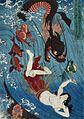 Utagawa Kuniyoshi Tamatori escaping from the Dragon King.jpg