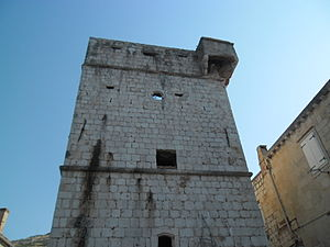 Vis (town) - Perasti tower