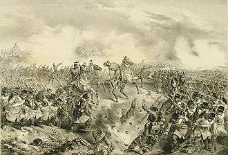 First Battle of Vác (1849) - Image: Váci ütközet 1849.04.10