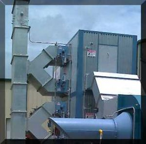 Ventilation air methane thermal oxidizer - Image: VAMTOX